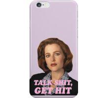 Dana Scully Sticker iPhone Case/Skin