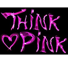 Think pink, fashion and style Photographic Print
