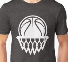Basketball White Color Edition Unisex T-Shirt