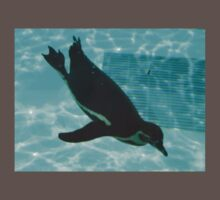 Diving Penguin One Piece - Short Sleeve