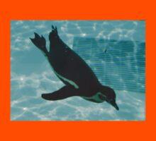 Diving Penguin Kids Tee