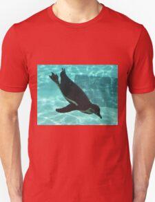 Diving Penguin Unisex T-Shirt