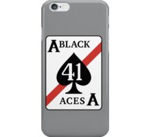 The Black Aces iPhone Case/Skin