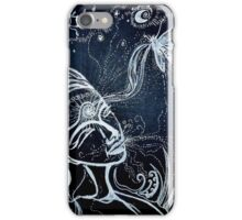 Nighttime Passing of Kindred Spirits iPhone Case/Skin