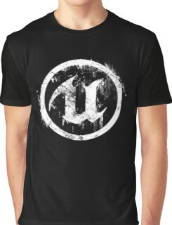 Unreal - White Graphic T-Shirt