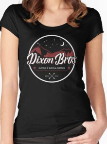 Dixon Bros Supplies Women's Fitted Scoop T-Shirt