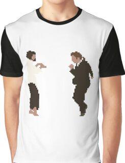 Pixel Fiction Graphic T-Shirt