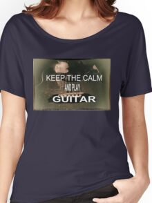 KEEP THE CALM Women's Relaxed Fit T-Shirt