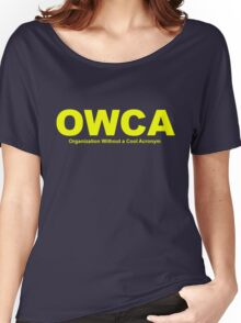 OWCA Organization Without A Cool Acronym - Phineas and Ferb Women's Relaxed Fit T-Shirt