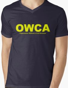 OWCA Organization Without A Cool Acronym - Phineas and Ferb Mens V-Neck T-Shirt