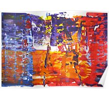Revenge is a dish best served cold - Original Wall Modern Abstract Art Painting Poster