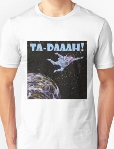 Space Cow over Earth Unisex T-Shirt