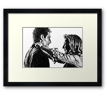 The answer is yes  Framed Print