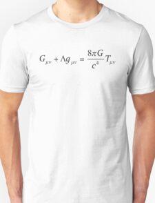 Einstein field equation Unisex T-Shirt