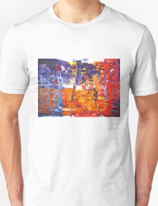 Revenge is a dish best served cold - Original Wall Modern Abstract Art Painting Unisex T-Shirt