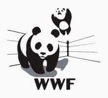 WWF Panda One Piece - Short Sleeve