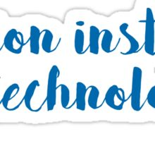 Fashion Institute of Technology - SCRIPT/NAVY Sticker