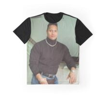 90's Dwayne Johnson Graphic T-Shirt