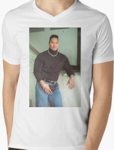 90's Dwayne Johnson Mens V-Neck T-Shirt