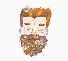 Flower beard Unisex T-Shirt