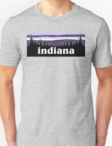Purple Indiana Unisex T-Shirt
