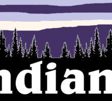 Purple Indiana Sticker
