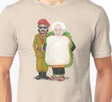 Bernie Sandwich with Sandals Unisex T-Shirt