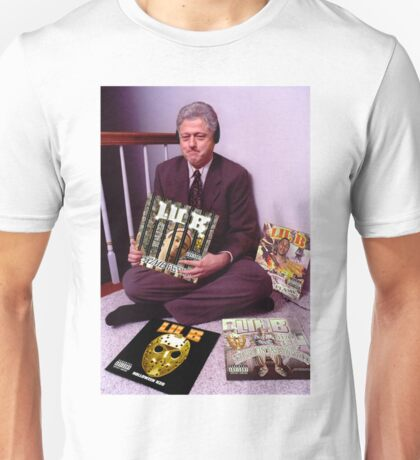Bill Clinton listens to Lil B (Rare) Unisex T-Shirt