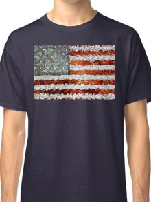 American Flag Abstract Classic T-Shirt