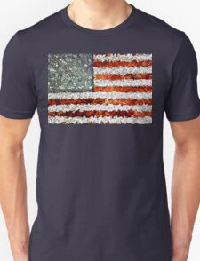 American Flag Abstract Unisex T-Shirt