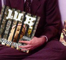 Bill Clinton listens to Lil B (Rare) Sticker