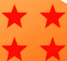 Dragon Ball Logo Design Sticker