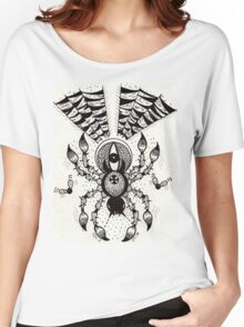 Black Spider Women's Relaxed Fit T-Shirt