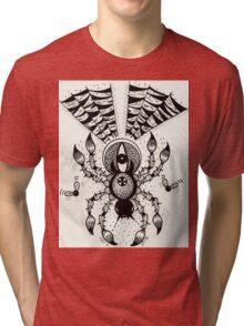 Black Spider Tri-blend T-Shirt