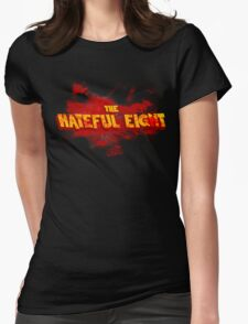 The Hateful Eight |Boodsplatter| Womens Fitted T-Shirt