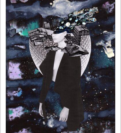 Scraps of Poetry 3 Sticker