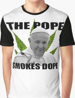 Dope Smokin', Hardcore Popein' - ONE:Print Graphic T-Shirt