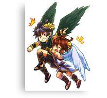 Angel Hugs Canvas Print