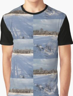 Reflection on Snow Graphic T-Shirt