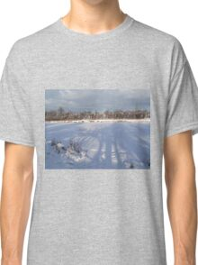 Reflection on Snow Classic T-Shirt