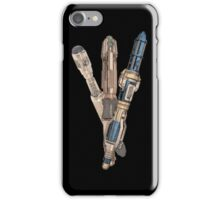 Evolution of the Doctor's Sonic Screwdriver iPhone Case/Skin
