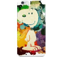 Snoopy Painting iPhone Case/Skin
