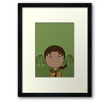 Katniss Framed Print