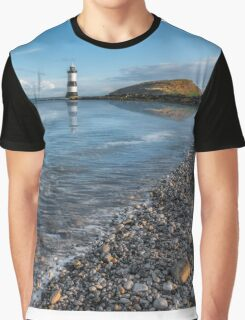 Penmon Point Lighthouse Graphic T-Shirt