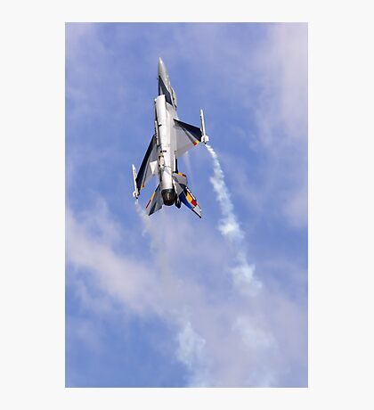 F-16 Power Climb Photographic Print