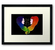 Love wins - LGBT+ - Pride  Framed Print