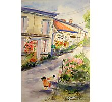 French Village Photographic Print