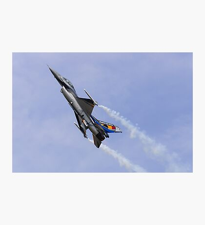 F-16 Climbs Photographic Print