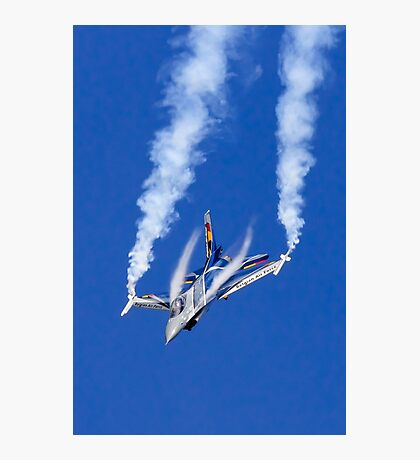 F-16 Diving Photographic Print