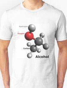 Alcohol Molecule - Drink up! T-Shirt